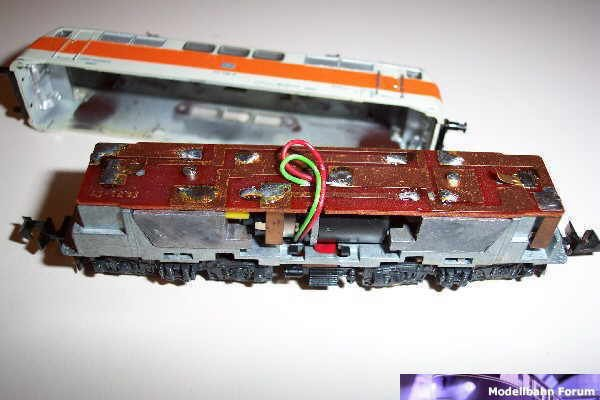 Kuehn Decoder In Minitrix Br 111 S Bahn Modellbahnforum Ch
