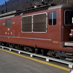 "BLS Re 4/4 163 ""Grenchen"" ex Ae 4/4 II 263"